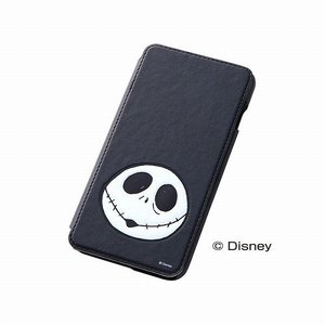 レイアウト iPhone 6 Plus用カバー ディズニー・ポップアップ・ブックカバータイプ・レザージャケット(合皮タイプ) ジャック RT-DP8J/JK|konan