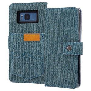 Galaxy S8 SC-02J/SCV36 ギャラクシーS8 ケース カバー 手帳型ケース 2トー...