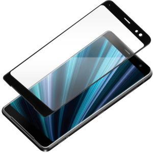 Xperia XZ3 ( SO-01L ・ SOV39 ) 用 液晶保護 ガラス フィルム 3D 液晶 全面 保護 ガラス スーパークリア PGA PG-XZ3GL07|konan