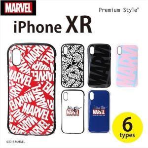 iPhone XR 6.1 インチ アイフォン テンアール 用 ケース カバー ハード 耐衝撃 ハイブリッド タフケース マーベル MARVEL 6デザイン PGA PG-DCS50**** konan
