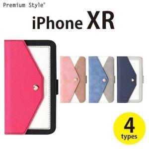 iPhone XR 6.1インチ アイフォン テンアール 用 手帳型 ケース カバー ダブルフリップカバー 2デザイン・4カラー PGA PG-18YFP1***|konan