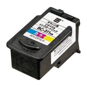 キヤノン BC-311 互換リサイクルインクカートリッジ カラー。PIXUS iP2700 / PI...