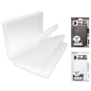 newニンテンドー3DS/3DSLL カードケース30+2枚 microSDもSDも収納出来る大容量カードケー アローン ALG-N3D32