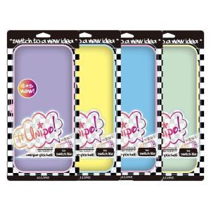 ニンテンドー スイッチ ライト Nintendo Switch Lite 用 EVAカラーポーチ Unipo カード5枚収納 ポケット Wファスナー バンド付 アローン ALG-NSLEUV konan