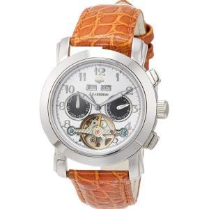 腕時計 手巻き 機械式 4機能付 ビッグテンプ付 からくりギミック ジョンハリソン J.HARRISON JH-002HWB konan