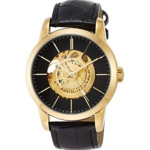 腕時計 高速回転大型テンプ付 両面スケルトン 自動巻&手巻 高級 ブランド メンズ J.HARRISON JH-1946GB|konan