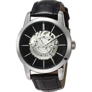 腕時計 高速回転大型テンプ付 両面スケルトン 自動巻&手巻 高級 ブランド メンズ J.HARRISON JH-1946SB|konan