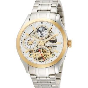 腕時計 サン&ムーン・デュアルタイム付 多機能 自動巻&手巻 高級 ブランド メンズ J.HARRISON JH-043GW|konan