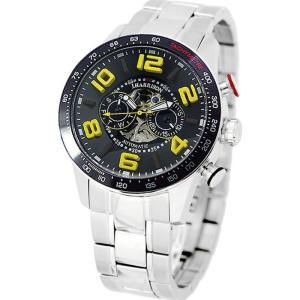 腕時計 ウォッチ 3D 多機能付 両面スケルトン 自動巻 高級 ブランド メンズ J.HARRISON JH-020BY|konan