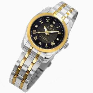 腕時計 電波時計 ソーラー時計 4石天然ダイヤモンド付 ソーラー電波宝飾時計 レディース 婦人用 ジョン・ハリソン いつでも正確な時間 J.HARRISON JH-096LGB|konan
