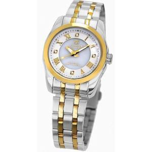 腕時計 電波時計 ソーラー時計 4石天然ダイヤモンド付 ソーラー電波宝飾時計 レディース 婦人用 ジョン・ハリソン いつでも正確な時間 J.HARRISON JH-096LGW|konan