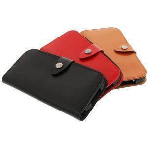 値下 らくらくスマートフォン4 F-04J ケース カバー 手帳型 本革フラップケース GLOSS LEPLUS LP-F04JGL|konan