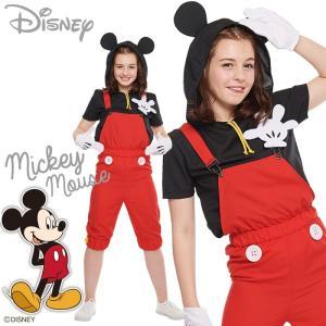 CASUAL POP MICKEY ディズニー ミッキーマウス レディースサイズ コスチューム 4点セット コスプレ ハロウィンコスチューム 衣装 仮装 変装 RUBIES JAPAN 37022|konan