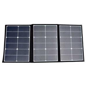 あすつく ソーラーパネル 折り畳み式 60W 太陽光発電 アウトドア レジャー 防災 持ち運び 三金商事 SOPA-60 konan
