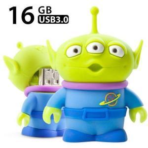 USB Driver3.0 高速 USB3.0メモリー 16GB トイ・ストーリー リトル・グリーン・マン Little Green Man Driver3.0 Bonecollection PJDR18081-16G|konan