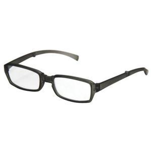 どこでも連れていける老眼鏡 折り畳みリーディンググラス VIAGEM+(ヴィアージェン) マットグレー+2.00 デューク VFR-02-2+2.0|konan