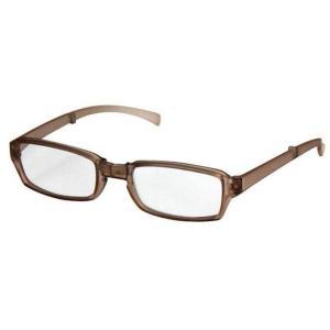 どこでも連れていける老眼鏡 折り畳みリーディンググラス VIAGEM+(ヴィアージェン) マットブラウン+2.50 デューク VFR-02-3+2.5|konan