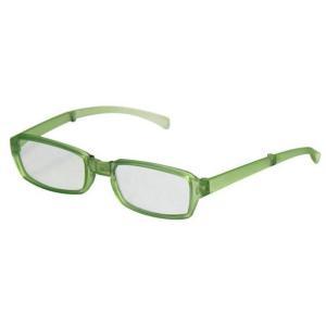 どこでも連れていける老眼鏡 折り畳みリーディンググラス VIAGEM+(ヴィアージェン) マットライトグリーン+2.00 デューク VFR-02-4+2.0|konan