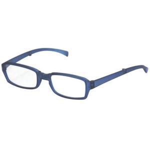 どこでも連れていける老眼鏡 折り畳みリーディンググラス VIAGEM+(ヴィアージェン) マットブルー+1.50 デューク VFR-02-6+1.5|konan