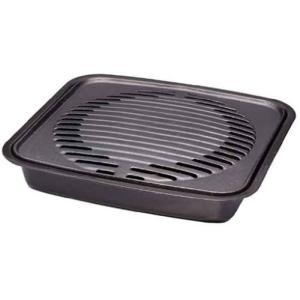 焼肉グリル イワタニ カセットフー専用 カセットコンロ用プレート 鉄鋳物製 余分な油が落ちて、ヘルシーな焼き上がり 岩谷産業 CB-P-GM|konan