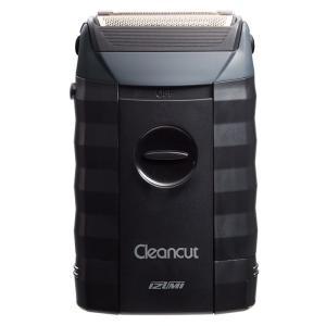 Cleancutシリーズ メンズシェーバー 3枚刃(乾電池式) IZUMI マクセルイズミ IZF-303 K|konan