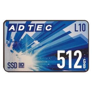 SSD L10 Series 512GB 3D TLC 2.5inch SATA ADTEC AD-L10D512G-25I|konan