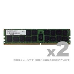 メモリ サーバ用 増設メモリ DDR4-2666 RDIMM 16GB 2枚組 1R ADTEC ADS2666D-R16GSW|konan