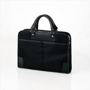 代引不可 ビジネスバッグ 鞄 軽量 耐久性 ノートPC 15.6inch 収納 2WAY 便利 ブラック エレコム BM-OR03BK|konan