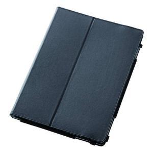 NEC LAVIE Tab E PC-TE510HAW 用 ソフトレザーカバー ブラック エレコム TB-NEE1HPLFBK|konan