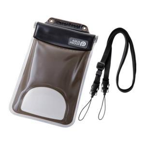 スマートフォン 用 防水・防塵ケース 水没防止タイプ 幅 81mm 6.0インチ XLサイズ エアバック付き JIS保護等級 IP68 水深10mまで使用可能 エレコム P-WPSF03BK|konan