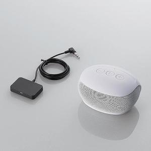 エレコム Bluetooth/TV用スピーカー/Delay less Wireless対応/ホワイト LBT-SPP20TVWH|konan