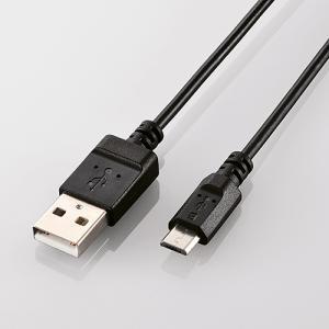 代引不可 エコUSB2.0ケーブル(A-microBタイプ) ブラック エレコム U2C-JAMB12BK|konan