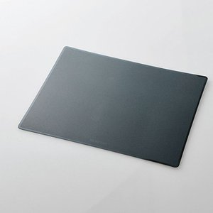 代引不可 抗ウイルス・抗菌マウスパッド Lサイズ ブラック エレコム MP-VRLBK|konan