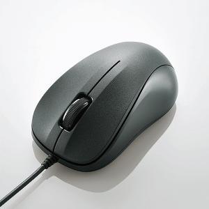 エレコム USB光学式マウス (Sサイズ)ブラック M-K5URBK/RS|konan