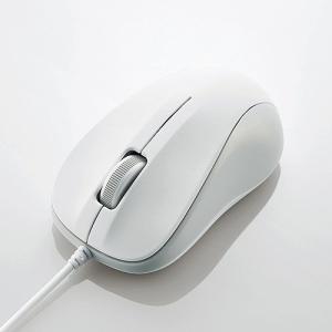 エレコム USB光学式マウス (Sサイズ)ホワイト M-K5URWH/RS|konan