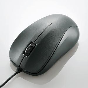 エレコム USB光学式マウス (Mサイズ)ブラック M-K6URBK/RS|konan