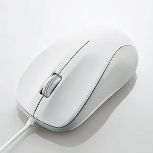 エレコム USB光学式マウス (Mサイズ)ホワイト M-K6URWH/RS|konan