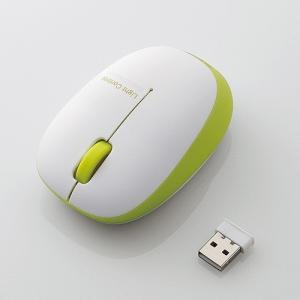 エレコム ワイヤレスBlueLEDマウス M-BL20DBGN|konan
