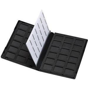 サンワサプライ DVDトールケース型メモリーカード管理ケース(SDカード用・両面収納タイプ) FC-MMC21SD|konan