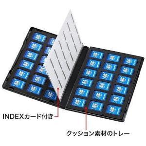 サンワサプライ DVDトールケース型メモリーカード管理ケース(SDカード用・両面収納タイプ) FC-MMC21SD|konan|02