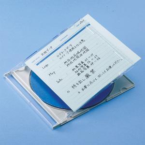 サンワサプライ 手書き用インデックスカード(ブルー) JP-IND6BL konan