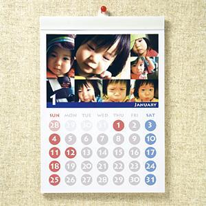 サンワサプライ インクジェット手作りカレンダーキット(壁掛・縦) JP-CALSET33|konan