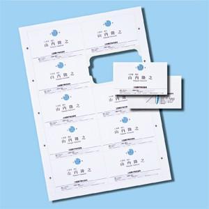 サンワサプライ インクジェットまわりがきれいな名刺カード(特厚・白・1000カード) JP-MCC04-1|konan