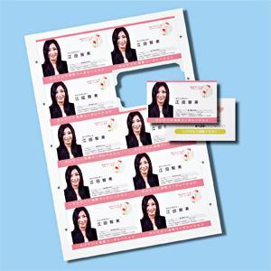 サンワサプライ インクジェットまわりがきれいな名刺カード(光沢・標準厚・白・1000カード) JP-MCC05K-1|konan