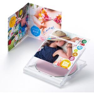 歌詞カードなどに最適 見開きタイプ DVD CDケース用カード フォト光沢CD DVDケースカード(見開き) サンワサプライ JP-INDGK2N|konan