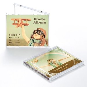 インクジェットCDケースボトム用カード(つやなしマット) サンワサプライ JP-IND3N|konan