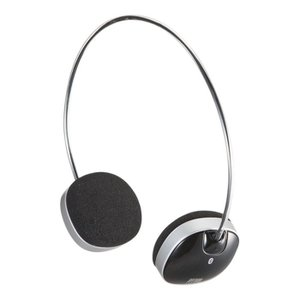 Bluetoothステレオヘッドセット ワイヤレスで音楽や電話が楽しめる軽量タイプのステレオヘッドセット  サンワサプライ MM-BTSH30BK|konan