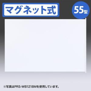 代引不可 プロジェクタースクリーン マグネット式 表示サイズ1130×1130mm 黒板に貼りやすいマグネット式スクリーン サンワサプライ PRS-WB1212M|konan