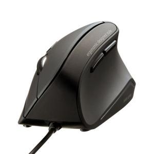マウス 静音 有線 エルゴノミクスマウス 人間工学形状で手首の負担を軽減できる 静音スイッチ USB...