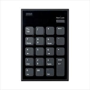 静音Bluetoothテンキー アイソレーションタイプ パンタグラフスイッチ サンワサプライ NT-BT23BK|konan